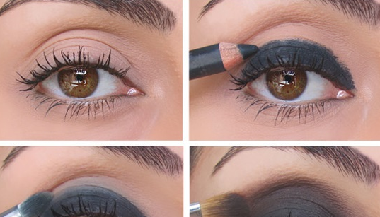 Once you try it you will become expert with a little more practice. You will become professional in doing Dark Chocolate Smokey Eye makeup.