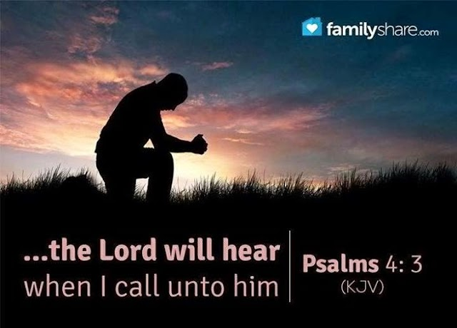 Lord will hear when I call unto him