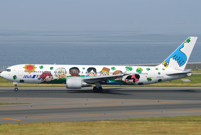 boeing 767-300 special livery all nippon airways