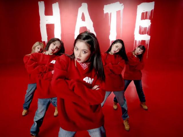 4Minute Hate MV
