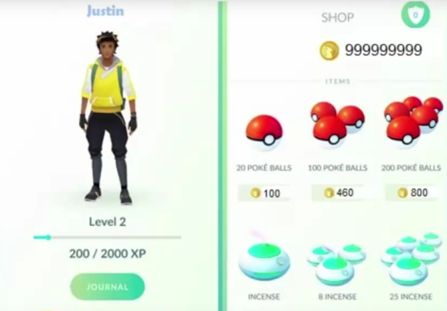 Pokemon Go Munten Generator