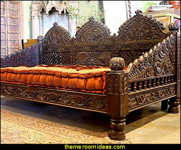Carved Day Bed