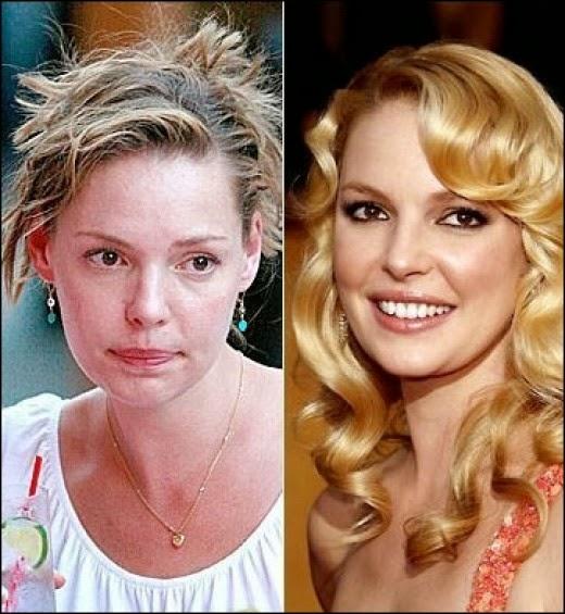 Les Stars Sans Maquillage Ce N Est Pas Toujours Ca Les Potins