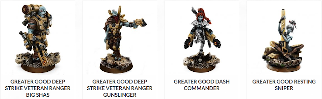 WarGame Exclusive - Greater Good 40K Tau Proxies | Miniature Review