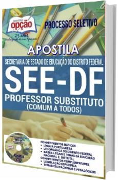 Apostila SEEDF 2017 Professor Substituto