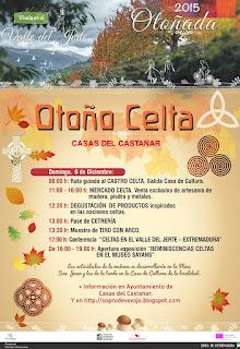 OTOÑO CELTA Domingo 6 de diciembre en Casas del Castañar