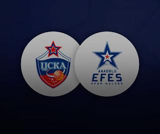 Анадолу Эфес – ЦСКА смотреть онлайн бесплатно 19 мая 2019 прямая трансляция в 21:30 МСК.