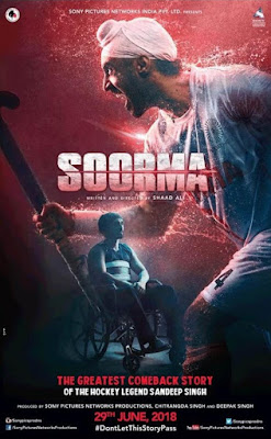 Soorma 2018 DVD R1 NTSC Sub