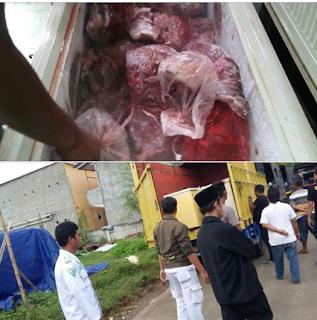 Sebarkan Gak Bakal Masuk TV Bro .. 2 Ton Daging Babi ILEGAL Siap Edar Yang Di Grebeg FPI Akhirnya Dimusnahkan Polisi - Commando