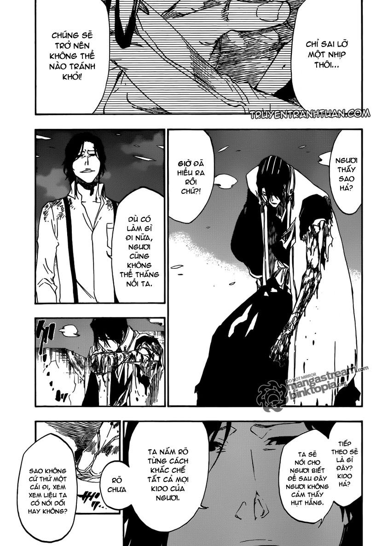 Bleach chapter 472 trang 16