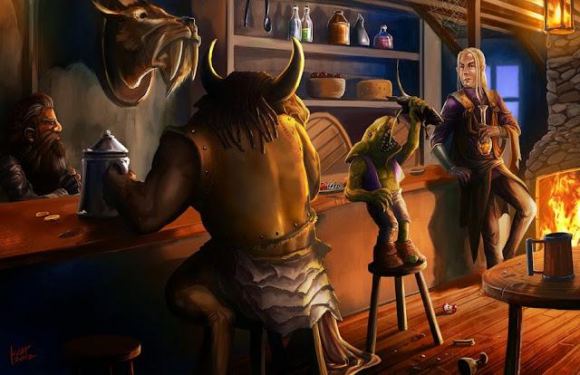 Gerador de Tavernas - Help RPG