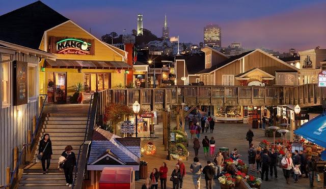 Informações sobre o restaurante Pier 39 em San Francisco