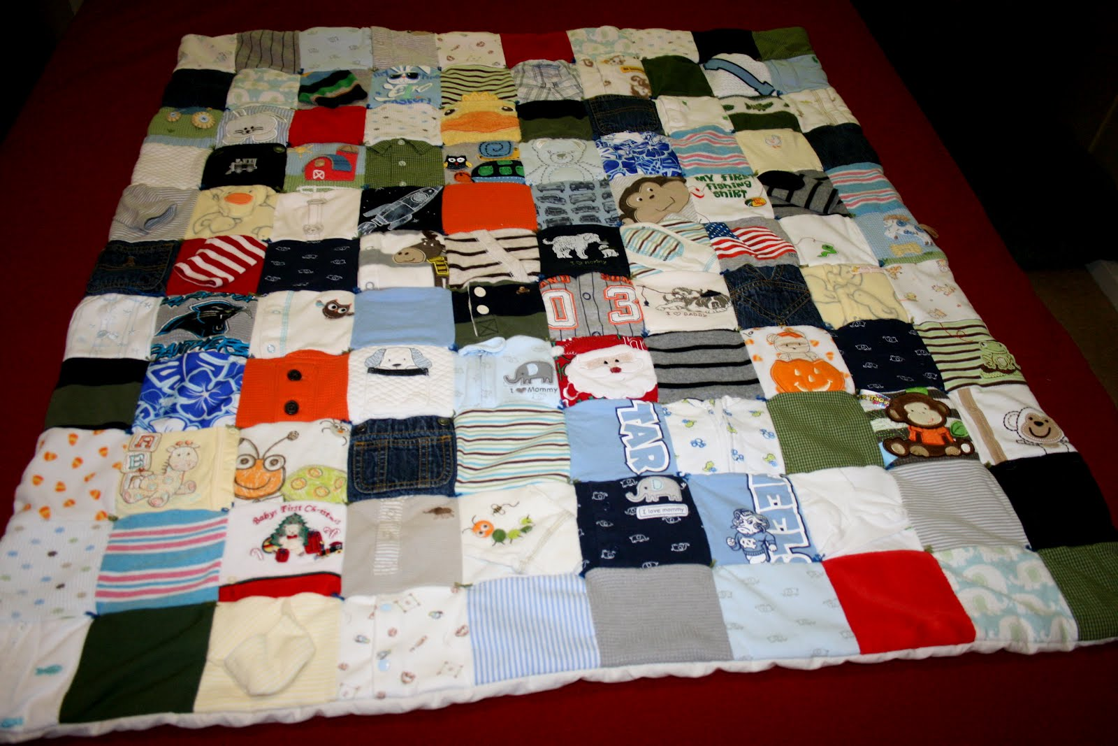 What is the significance of the quilts in