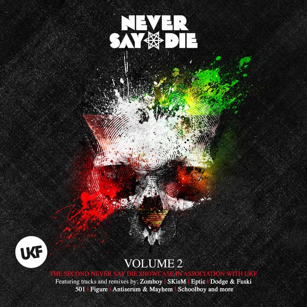 Various Artists - Never Say Die Vol. 2 (Deluxe Edition) Cover