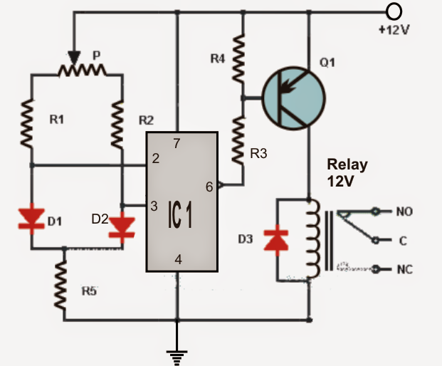 Circuit For Central Heating How To Make A Simple Thermostat Circuit