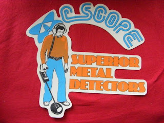 Détecteurs de métaux C-SCOPE, détecteurs métaux vintage, vintage métal detector, détecteurs de métaux anciens, old métal detector