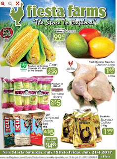 Fiesta Farms Flyer Weekly Specials valid July 15 - July 21, 2017