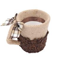 Кружка с запахом кофе. Декор, МК