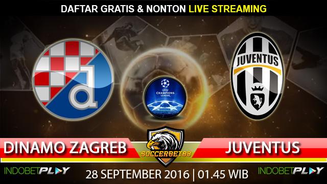 Prediksi Dinamo Zagreb vs Juventus 28 September 2016 (Liga Champions)