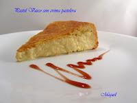 Pastel vasco con crema pastelera