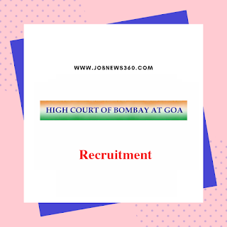 Bombay High Court, Goa Recruitment 2019 for Staff Car Driver