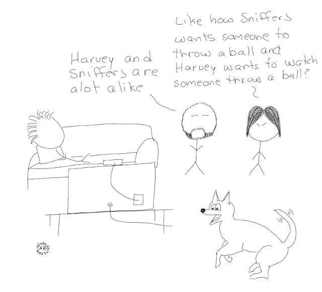 amusedbits, cartoon, harvey, alike, ball