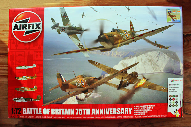 The Butterfly Balcony: Wendy's Week Airfix & Allotmenteering - Battle of Britain 75th Anniversary Airfix Kit
