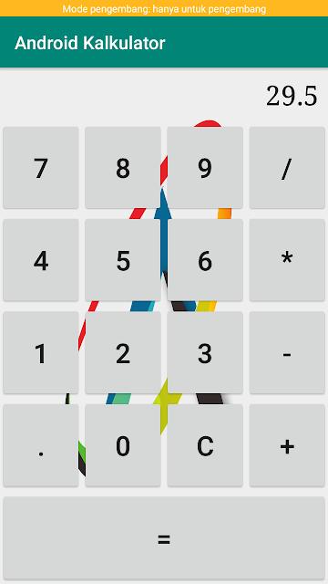 membuat kalkulator sederhana dengan android studio lengkap dengan penjelasan untuk di pakai scriptnya pada project masing-masing
