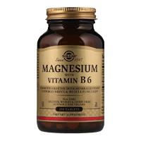 Солгар — Магний с витамином В6