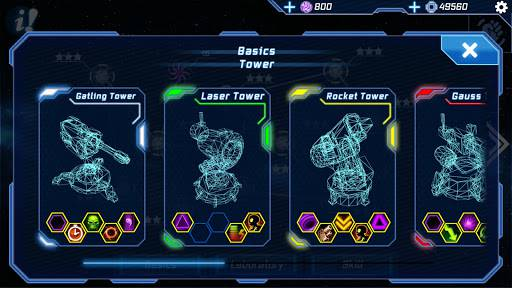 Download Sci Fi Tower Defense Module TD Mod Apk Unlimited Money