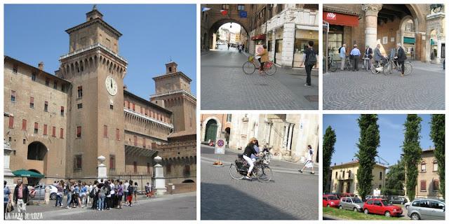 Ferrara-Castillo Estense-bicicletas