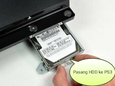 Cara ganti hardisk PS3 tanpa instal ulang dan game tidak hilang