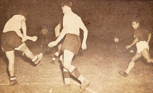 Uruguay y Chile en Campeonato Sudamericano de 1946