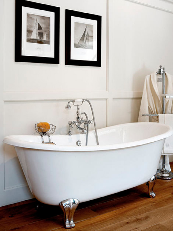 Vasca da bagno freestanding classica o moderna blog di arredamento e interni dettagli home - Vasca da bagno in ghisa ...