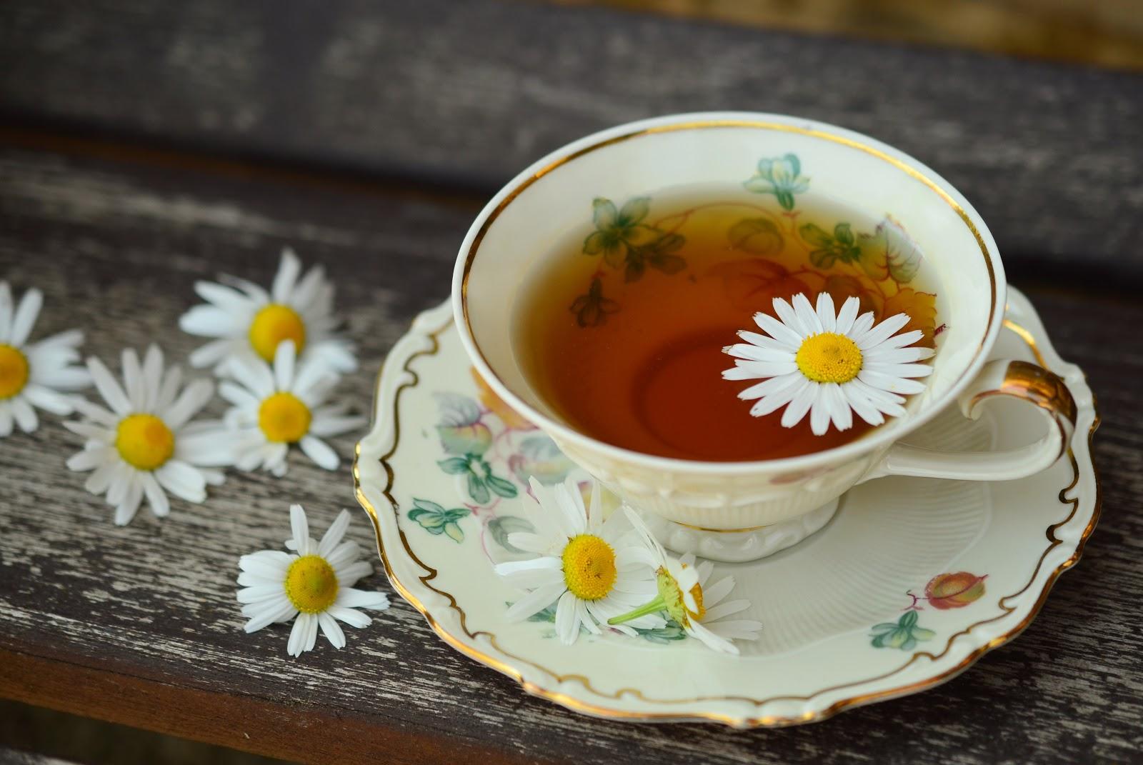 一杯の紅茶:カモミールティー