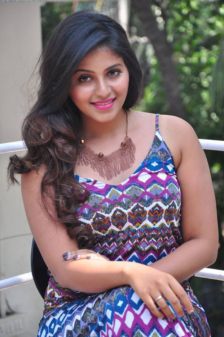 Actress Anjali Latest Cute Hot Spicy Photos Gallery At Chitrangada Trailer Launch