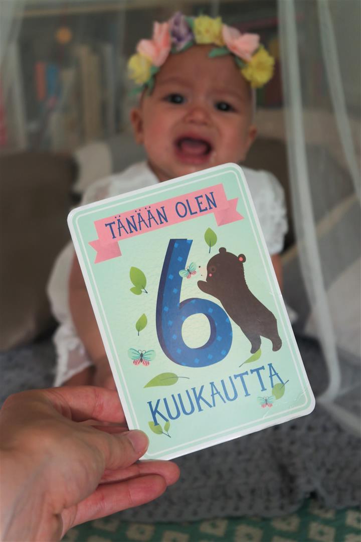 baby milestonecards