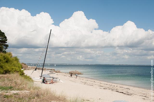 Península de Quiberon playas viaje Bretaña