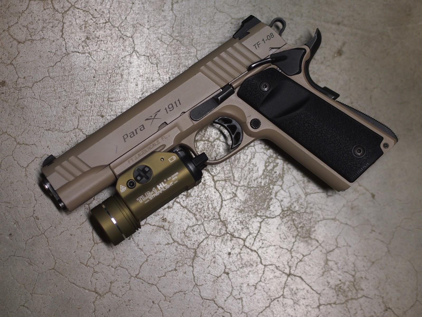Mister Donut's Firearms Blog: Para Ordinance PXT 745 Kandahar TF 1