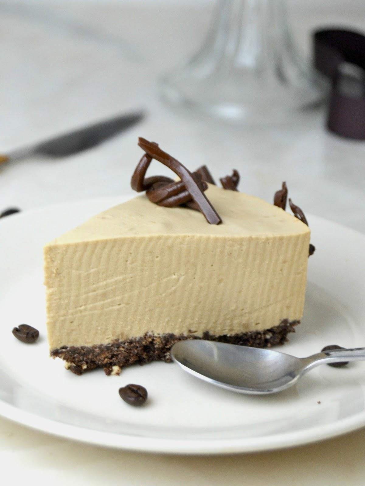 Tarta fría de mousse de café. deliciosa y ¡Sin horno! | Cuuking ...