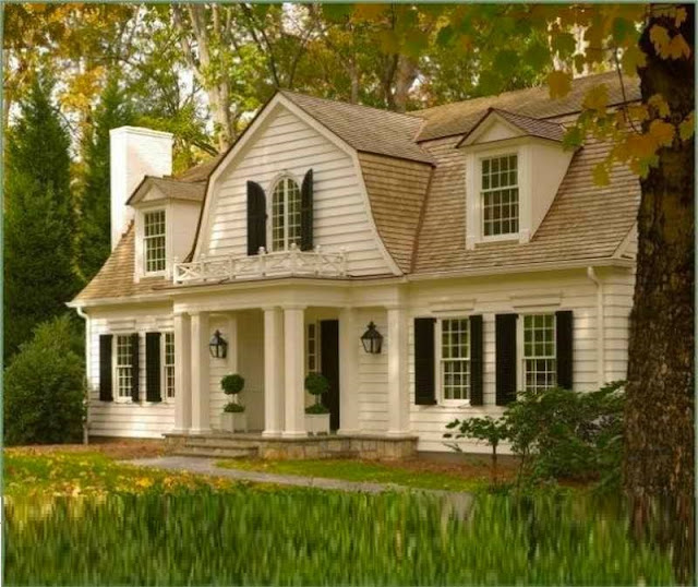 Colonial Home Exterior Trim Design Ideas: The Best Colonial Style Homes And Houses Design Ideas