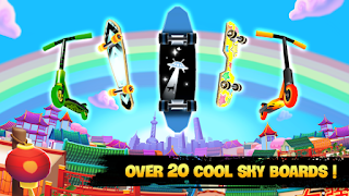 Free Download Game Skyline Skaters 1.8.0 MOD APK (Unlimited Coin/Money) Terbaru 2018
