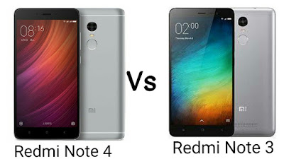 Redmi note 3 vs Redmi note 4