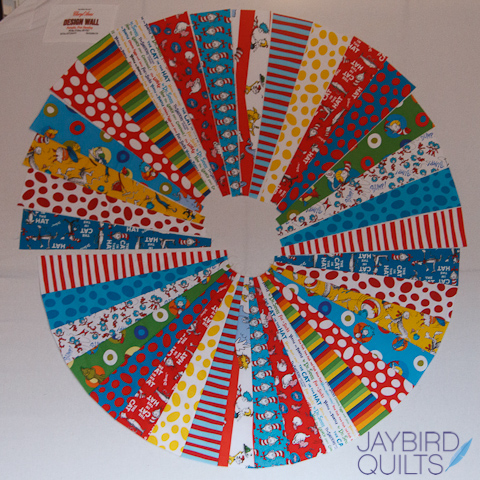 Template for cutting and patchwork Circles 2-10 inches 9 circles