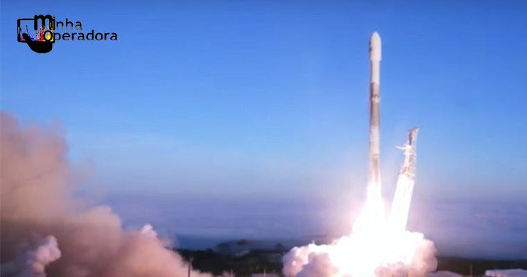 Regulador dos EUA aprova planos da SpaceX de fornecer internet por satélite