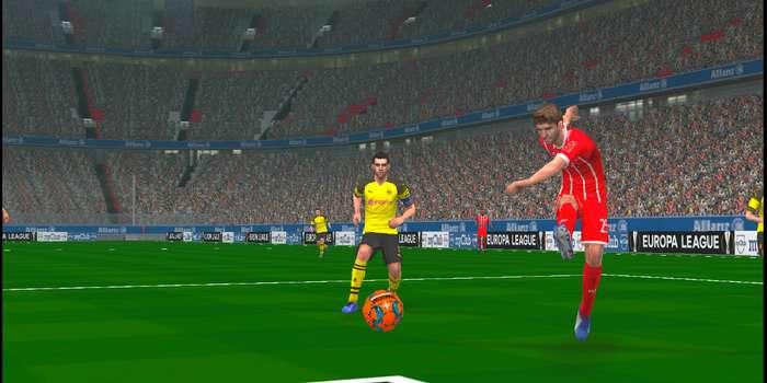 Derbystar Bundesliga 2018/19 Winter Ball PES 2014 PSP (PPSSPP)