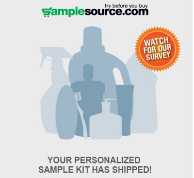 Samplesource Sample Kit Shipped