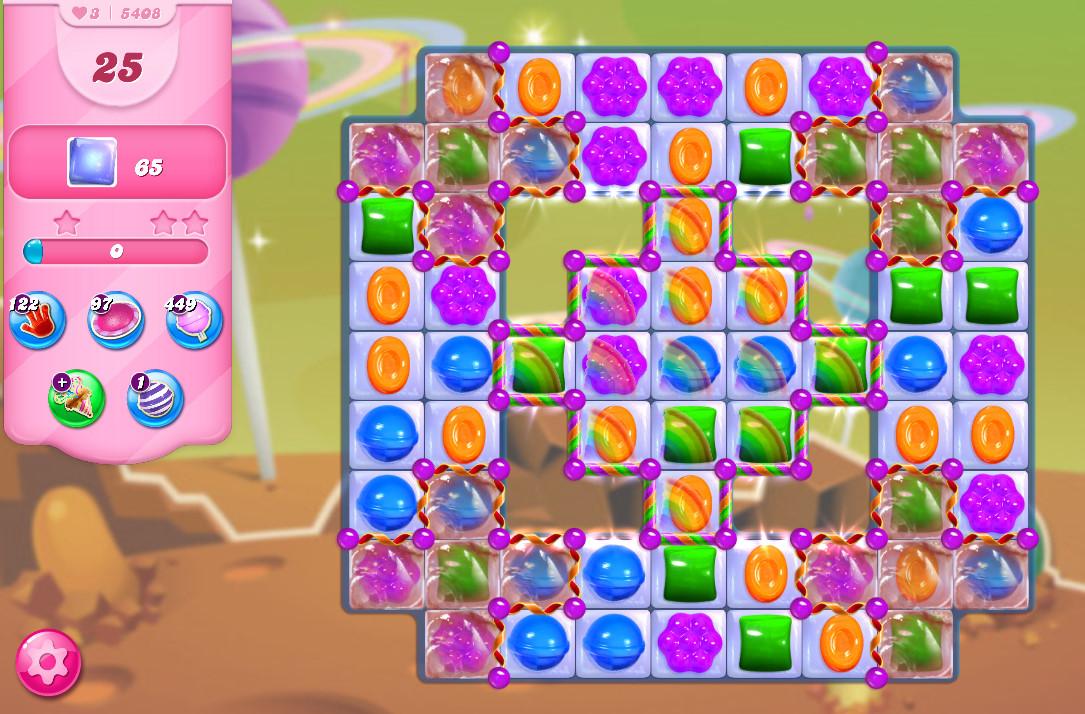 Candy Crush Saga level 5408