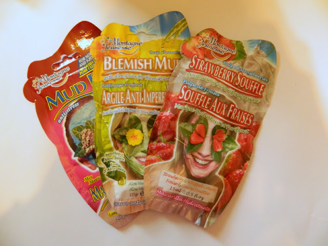 three montagne face masks from home bargains