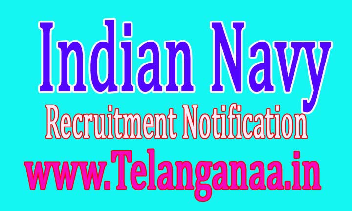 Indian Navy Recruitment Notification 2017